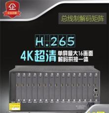 15屏H.265網絡高清解碼拼接一體矩陣單屏16分割