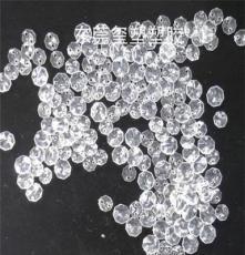 亞克力八角珠注塑加工 12mm透明水晶球定制 燈具裝飾品配件廠家