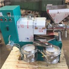 热卖螺旋榨油机 冷热两用全自动榨油机 菜籽油加工设备