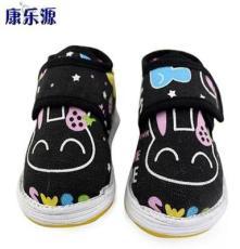特價批發棉鞋上新純棉花兒童手工棉鞋保暖黑兔棉鞋千層底兒童布鞋