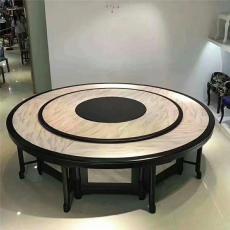 新中式電動餐桌