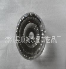 廠家供應水晶刻面球 可打孔顏色多樣 用于樓梯扶手 裝飾裝潢