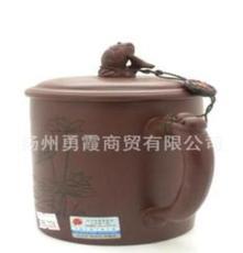 紫砂壶 江南第一杯 红鱼夏荷 宜兴紫砂壶 泡茶壶 礼品杯
