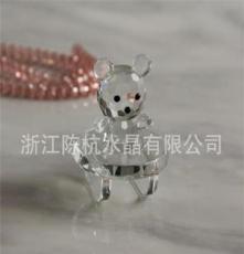2012熱銷 水晶動物 水晶工藝品 孔雀 禮品 飾品 燭臺