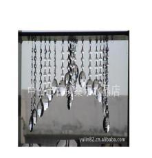 廠家供應 優質蛋形網格水晶燈飾配件 珠簾吊墜水晶燈飾配件