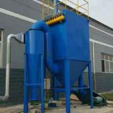 铸造厂6吨冶炼炉中频炉布袋除尘器