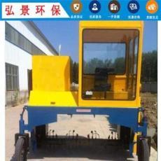 重慶涪陵自走輪式翻拋機廠家-雞糞建槽式含軌道翻糞機價格