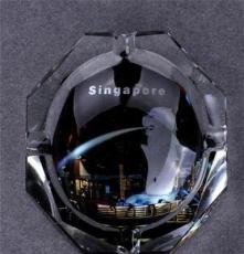 煙灰缸 水晶八角煙灰缸 精品歐式時尚煙缸 水晶煙缸