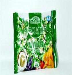 進口食品批發 韓國吉時豆438g 糖果 椰子味