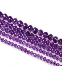 恒輝DIY設計半成品 AAA天然紫水晶 紫色水晶 廠家直銷
