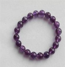夢祥飾品 廠家直銷紫水晶手鏈 時尚 美容養顏 送朋友 有禮品證