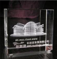 中國頂級水晶批發 水晶禮品 水晶工藝品 水晶激光鐳射-大樓3D模型