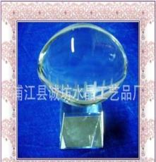 供應水晶橄欖球/水晶球批發廠家/K9水晶/水晶內畫球定 水晶球