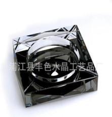水晶靈款水晶煙灰缸 彩印深雕亮彩煙缸 廠家直銷 花色齊全