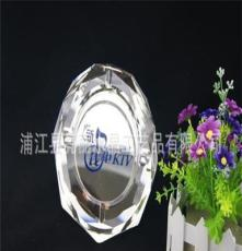 供應高檔水晶工藝品,可印LOGO煙灰缸 會所酒店專用水晶煙灰缸