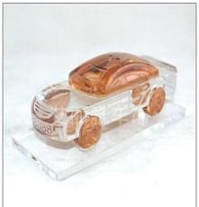 廠家直銷K9水晶汽車模型水晶小車模汽車擺飾汽車香水座
