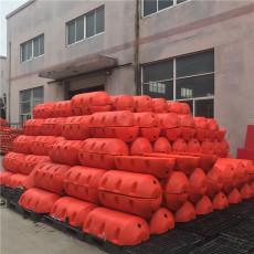 高强度拦污浮排直径30厘米圆桶形拦漂设施