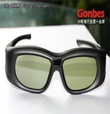 2013新款主動快門式3D眼鏡-支持影院的3D主動快門眼鏡