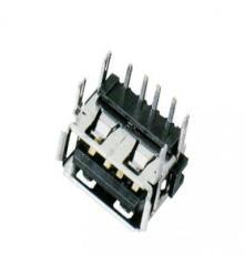 移动电源USB A/F 90度短体10.0 两脚鱼叉