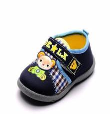 2014秋季新款儿童布鞋可爱小熊软底宝宝鞋 厂家童鞋批发