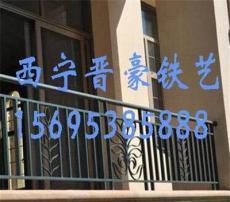 供青海铁艺护栏和德令哈阳台护栏批发