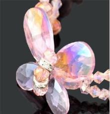 2013新款流行飾品批發   夜攤水晶水鏈飾品