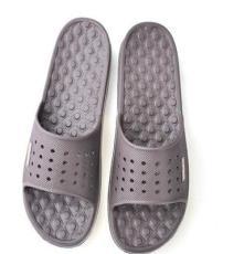 依人3019男款按摩浴室拖鞋 防滑抗压镂空居家拖鞋