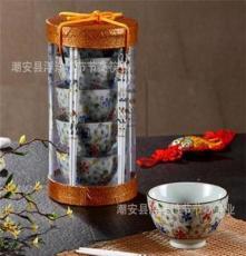 日韓陶瓷碗 禮品陶瓷餐具 手繪手彩陶瓷碗 碗筷組合餐具套裝