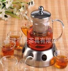 耐热玻璃泡茶壶 养生直火壶 玻璃茶具套装 暧茶壶