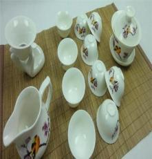 清源泓 喜上眉梢陶瓷茶具 玉瓷陶瓷促销礼品茶具供应批发陶瓷茶具