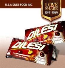 休閑零食 批發 美國零食 迪樂斯巧克力 38g 正品