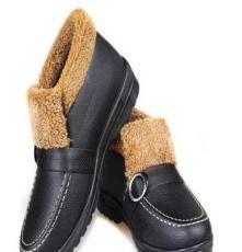老北京 中老年棉鞋女款 坡跟加厚加密短絨 中年媽媽保暖棉靴地攤