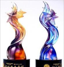 水晶獎杯獎牌定做 創意禮品獎品定制員工團隊獎杯水晶內雕工藝