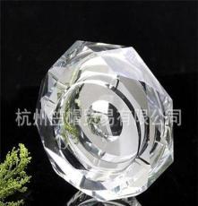 K9水晶煙灰缸廠家批發定制,家居 廣告 促銷用禮品水晶八角煙灰缸