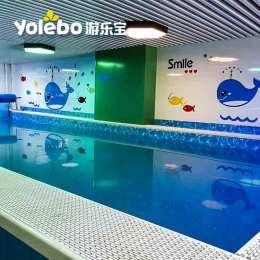 室内泳池设备厂家定制大型钢构式泳池设备