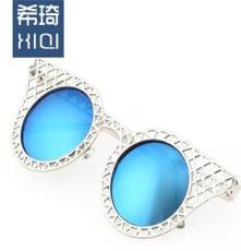 韓版復古墨鏡女 明星款太陽鏡男士大框 黑太陽眼鏡潮人