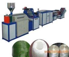 塑料捆扎绳机厂-铁丝包塑机价格-莱州市沙河鑫汇塑料机械厂