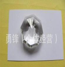專業銷售 優質水晶燈飾掛件八角珠 保色水晶飾品