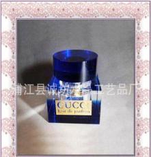 水晶汽車香水瓶定做/K9水晶/款式多 水晶香水座 水晶香水瓶