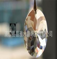 k9紫荊花水晶 廠家直銷水晶燈掛件 水晶燈飾配件 清光