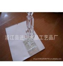 生產銷售美觀大方水晶臺燈柱 水晶雕刻臺燈柱