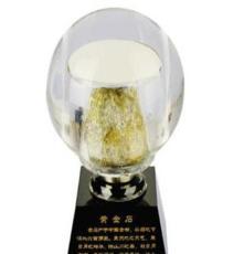 廠家直銷水晶球黃金石 旋轉黃金石擺件 新款工藝禮品 招財吉祥物
