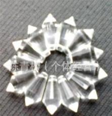 浦江水晶生產廠家供應水晶飾品,水晶燈飾掛件,20#多面尖珠