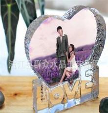 廠家直銷 水晶心形LOVE冰山 水晶擺件love冰山 歡迎定制