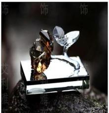 廠家直銷正品K9水晶玫瑰汽車車載用品批發水晶汽車香水座一件代發