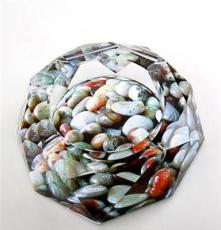 廠家直銷批發 煙灰缸 水晶煙灰缸 辦公用品 可以彩印各種圖片