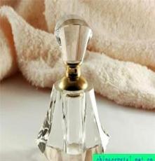 水晶時尚可愛大方高檔水晶香水瓶、個性香水瓶、水晶禮品
