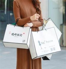 厂家定做通用服装购物手提袋、创意包装礼品袋定制LOGO
