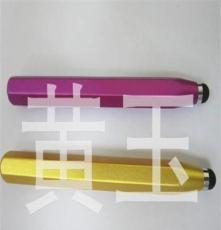 工厂供应铝合金七彩触控笔 iPhone电容笔 ipad手写笔
