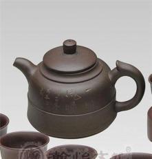 大师紫砂作品 郁永良金龙戏水之上善若水功夫茶具套装